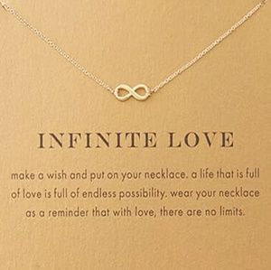 Jewelry - Infinite Love | Gold Infinity Necklace